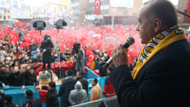 Cumhurbaşkanı Erdoğan'dan Muş'ta önemli açıklamalar