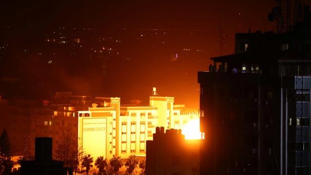 Son dakika | İsrail Gazze'ye jetlerle saldırdı!