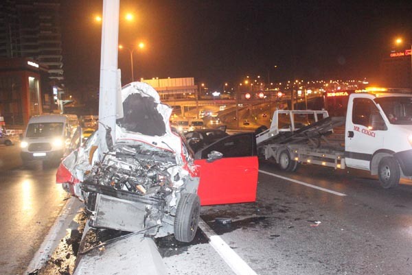 Bu sabah İstanbul! Korkunç kaza