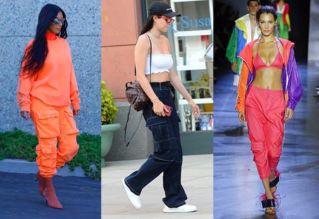 Trend alarmı: Kargo pantolonlar