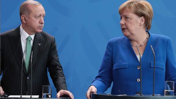 Son dakika | Cumhurbaşkanı Erdoğan'dan Merkel'e taziye telefonu