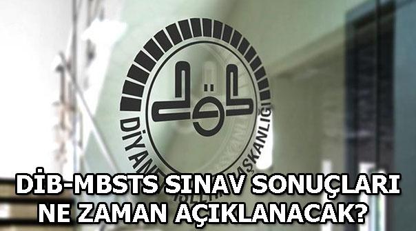 DİB-MBSTS sınav soru ve cevapları yayımlandı mı? Sınav sonuçları...
