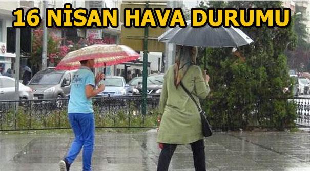 Salı günü hava durumu nasıl olacak? (16 Nisan) İstanbul, Ankara, İzmir yağış var mı?