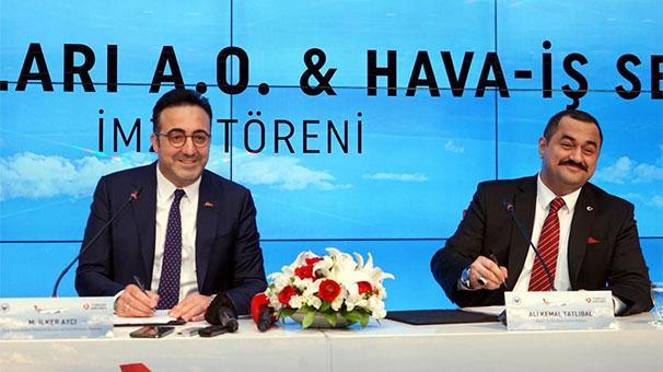 Türk Hava Yolları ve Hava İş Sendikası Toplu İş Sözleşmesine imza attı