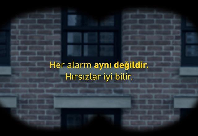 """""""Her alarm aynı değildir, hırsızlar iyi bilir"""""""