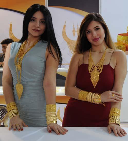 Diyarbakır'da fuarda 1,5 ton altın sergilendi