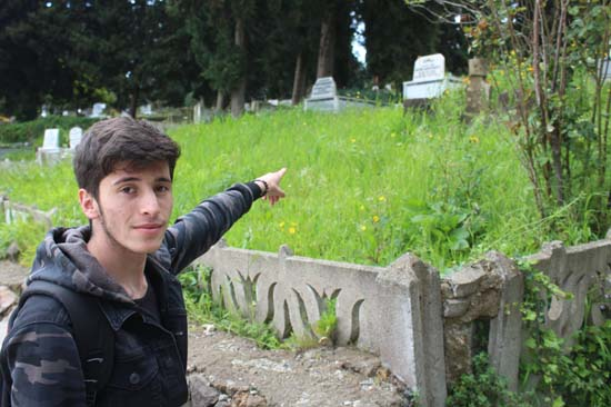 Ordu'da yönleri farklı mezarlar şaşırttı