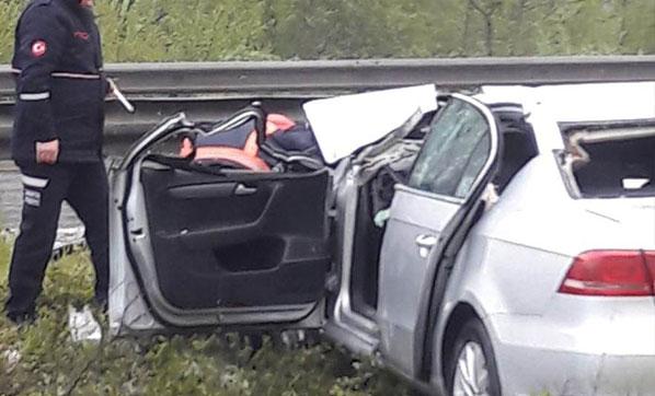 Korkunç kaza! Anne öldü, eşi ve bebeği...