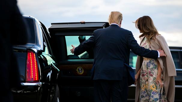 Son dakika... Trump, İngiltere ve Fransa'ya gidiyor