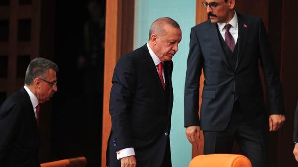 Son dakika... Cumhurbaşkanı Erdoğan HDP'li isim kürsüye çıkınca Meclis'ten ayrıldı