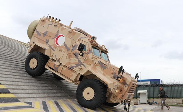 Türk zırhlısı hayat kurtaracak!