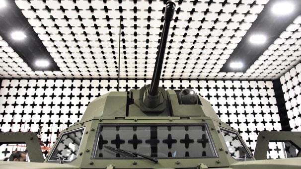 Türkiye'nin ilk elektrikli zırhlı aracı 'Akrep II' tanıtıldı