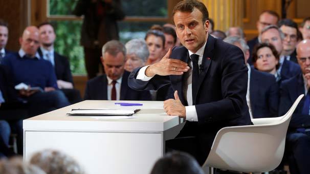 Ve Macron'dan beklenen açıklama geldi! Taşlar yerinden oynayacak...