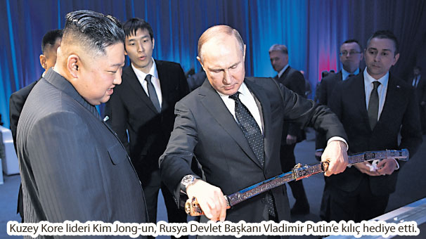 Putin ve Kim ilk kez bir araya geldi