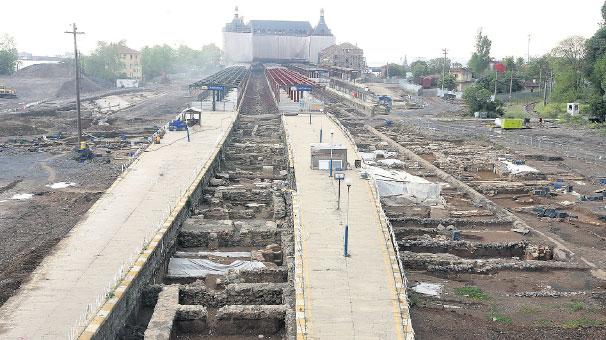 Kazdıkça tarih çıkıyor! Haydarpaşa'da 1700 yıllık liman kenti