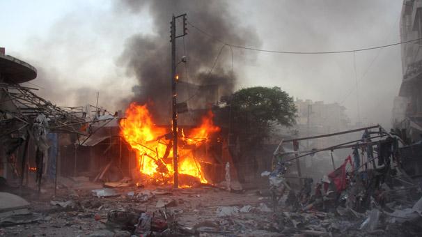 İdlib'de sahurda saldırı
