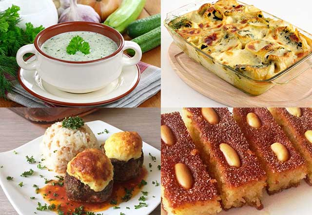 Günün iftar menüsü: 15. gün