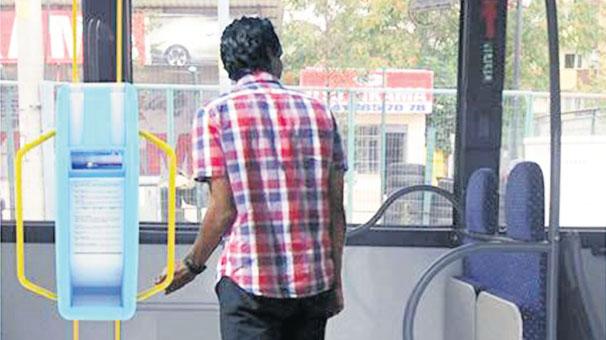 500T'de susuz kaldı otobüse su otomatı yaptı
