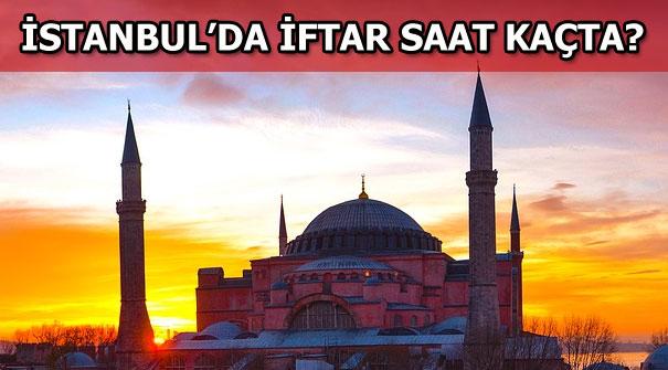 İstanbul'da iftar saat kaçta? 20 Mayıs İstanbul iftar vakti