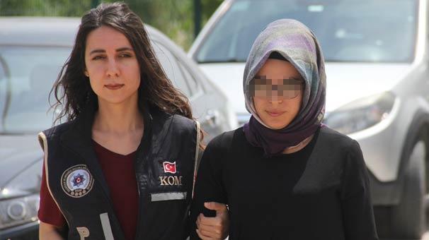 Kocasının üzerine kayıtlı hattan ByLock kullandığı iddiası ile gözaltına alındı