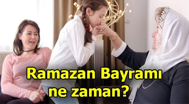 Ramazan Bayramı tatili kaç gün? Ramazan Bayramı'na ne kadar kaldı?