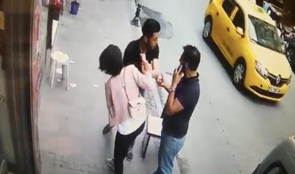 İstanbul'da dehşet anları! Ekmek bıçağıyla terör estirdi