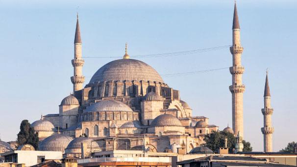 Süleymaniye'nin duvarına delik!