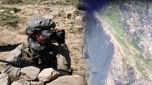 Tunceli'deki çatışmadan sıcak görüntü! El bombasıyla karşılık verince...