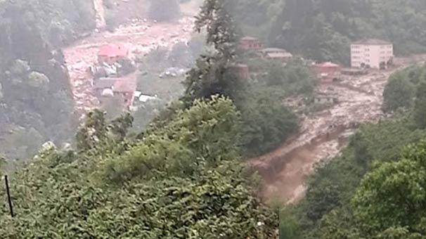 Trabzon'da sel: 2 kişi kayıp