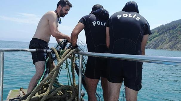 Yasaklanmıştı, deniz altında gizlenmiş halde bulundu