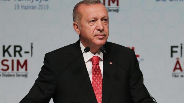 Cumhurbaşkanı Erdoğan'dan çarpıcı açıklamalar