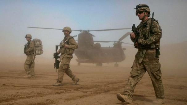 ABD askerleri<br>öldürüldü!
