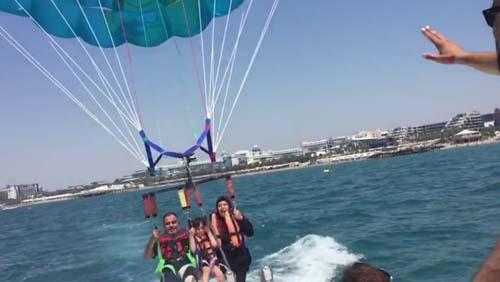 Antalya'da korkunç olay! 50 metreden suya çakıldı