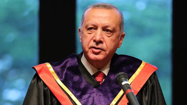 Cumhurbaşkanı Erdoğan'a Japonya'da 'Fahri Doktora Unvanı' verildi