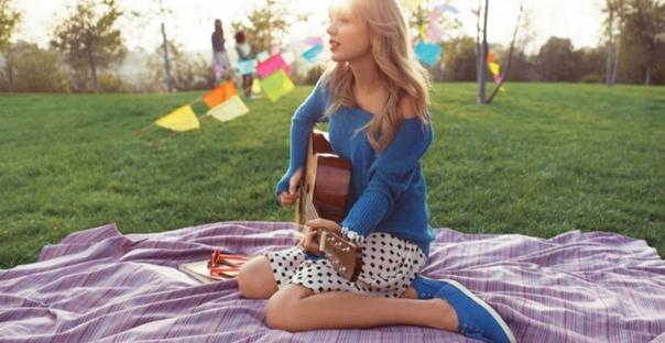 Taylor Swift'ten Keds İlkbahar 2014 Koleksiyonu