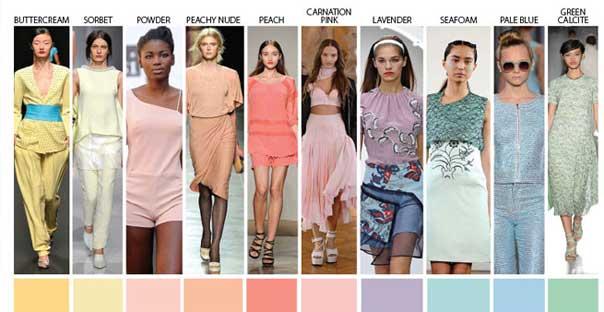 2014 İlkbahar-Yaz Moda Renkleri