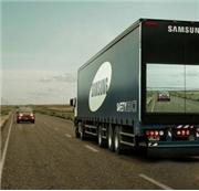 Samsung'dan Transparan Kamyon